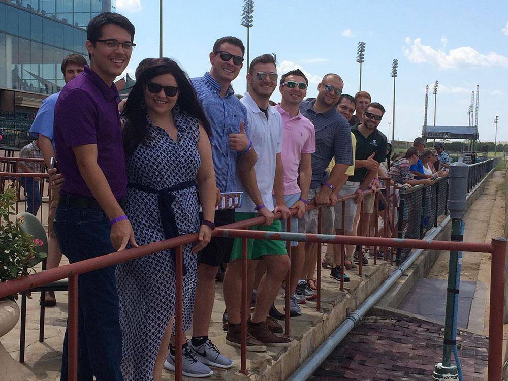 Lone Star Park Team Building | Goodwin & Marshall