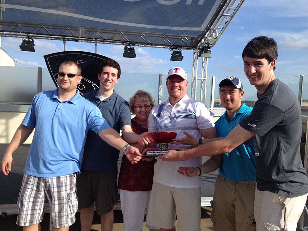 Top Golf Team Building | Goodwin & Marshall