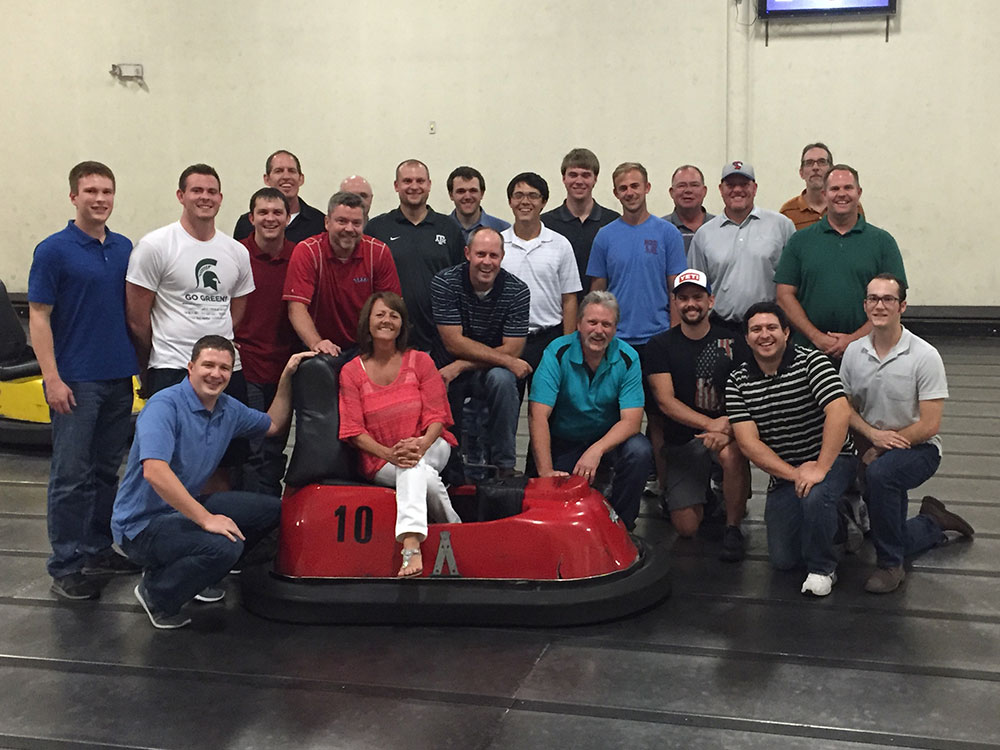Whirley Ball Team Building | Goodwin & Marshall